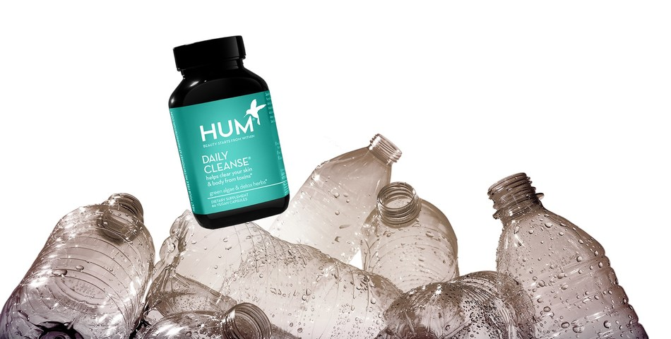 HUM Nutrition Launches Ocean-Bound Plastic Bottle